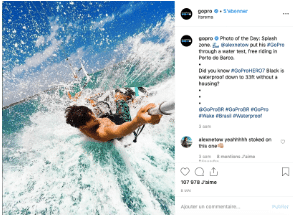 Instagram GoPro